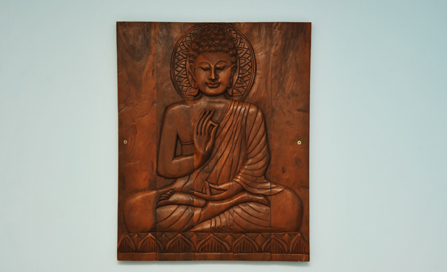 Budha art in the Salon